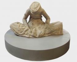 Yani-Mariani-Sastranehara,-Mustika-Lahir-Batin,-2012,-tali-tisu,-polyressin,-diameter-120cm-x-80cm\'-copy-copy