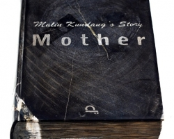 Desrat Fianda, Malin Kundang's Story, Mother, 2017, fosil batu, 26 x 19 x 5 cm