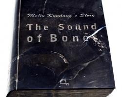 Desrat Fianda, Malin Kundang's Story, The Sound of Bone, 2017, fosil batu, 28 x 20 x 3 cm