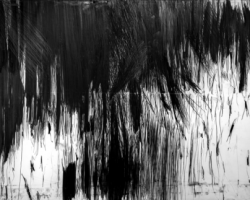 Douglas Diaz, Life There is Only Now, 2016, graphite on canvas, 180 x 250 cm