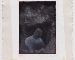 Jumaldi Alfi, Father and Son #02, 2010, stencil, collage and acrylic on STPI handmade paper, 127x102 cm