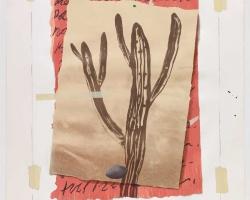 Jumaldi Alfi, Hope #06, 2010, lithography, screen print, stencil and acrylic on STPI handmade paper, 168x132 cm (1)